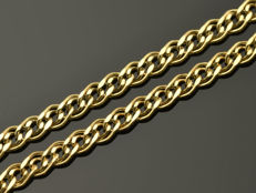 "18k Gold Necklace. Chain ""Nonna"" - 50 cm. No reserve price."