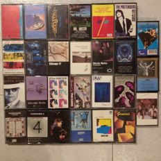 27 Cassettes With Great Bands From The 80'S In Very Good + Condition