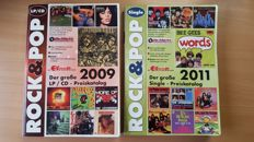 Rock & Pop catalogue - Single catalogue en LP/ CD catalogue.