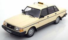 "Minichamps - Scale 1/18 - Volvo 240 GL 1986 ""Taxi"" - Colour Beige"