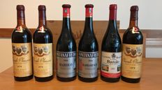 6 bottles of italian wine