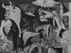 Pablo Picasso (after) -Guernica
