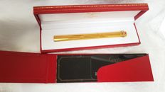 Must de Cartier Pen gold plated with box