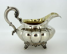 Antique (George IV) Sterling Silver Cream Jar, London 1832, By Edward, Edward junior, John & William Barnard