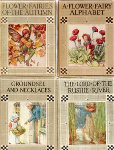 Cicely Mary Barker; Lot of 6 illustrated editions - 1930s
