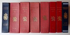 Lot with 6 volumes of 'Het Nederland's Adelsboek' and 2 'Nederlands's Patriciaat' books - 1927/1987