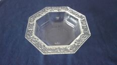 Rosenthal - Octagonal crystal candy bowl
