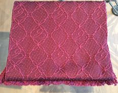 Chopard – Imperiale Claret wrap, in wool and silk – New