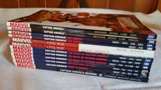 Captain America by Ed Brubaker from Winter Soldier, Death of Cap to Reborn, includes Civil War - x12 TPB