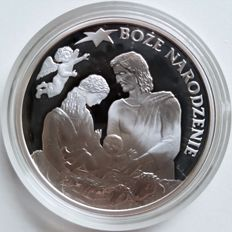 Fiji – 2 Dollars 2007 'Christmas' – 1 oz silver
