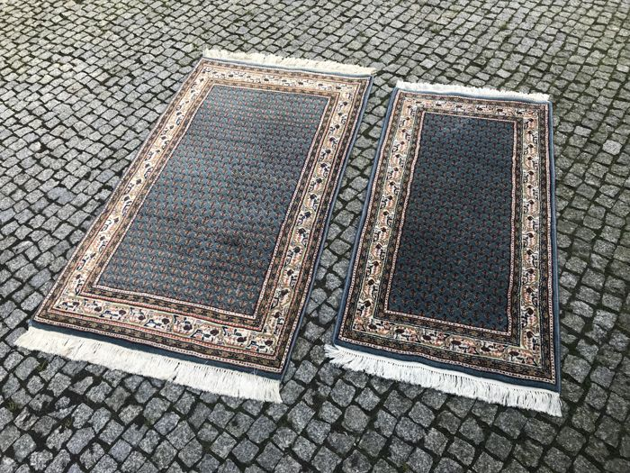 India, Mir rugs 170x90cm  and 145x67cm
