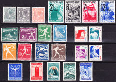 The Netherlands 1924/1933 - Small collection