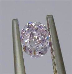 [LIGHT PINK DIAMOND ] 0.37 ct SI2 GIA *** Low price reserve ***