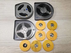 Lot consisting of 10 Super8 and 8mm KODAK films regarding travels around the world