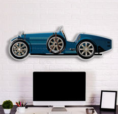 SL - Halmo Collection Bugatti Type 35 Plexiglass Model