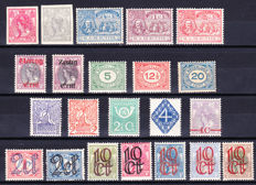 The Netherlands 1907/1923 - small collection