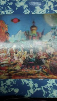 "The Rolling Stones : ""the satanic majesties request ""  in original 3d sleeve"