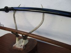 Japanese Katana Stand with Deer Horns