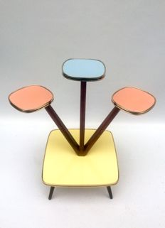 Unknown designer – Vintage plant stand in Formica