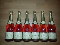 C. Walczak Rose Champagne - 6 bottles (75cl) in OWC - grower Champagne