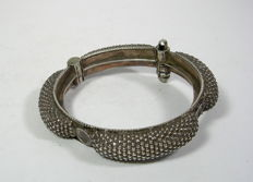 Bangle - silver - India - early 20th century