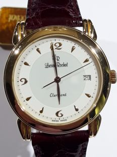 New, 18 kt gold watch by Lucien Rochat. Reference: 0421240011, Clermont from the 1990s