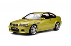 Otto Mobile - Scale 1/12 - BMW M3 E46 - Phoenix Yellow