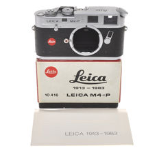 "Leitz rare Leica M4-P chrome cod. 10416, ""1913-1983"", only 2500 were made"