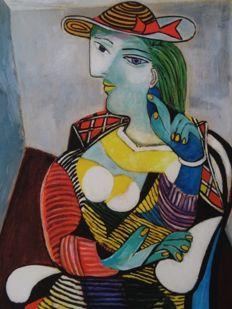 Pablo Picasso (after) - Portrait of Marie- Therese Walter