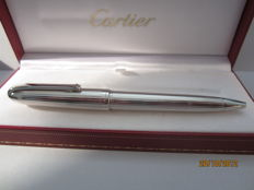 "Fine ""Louis Cartier"" vintage ballpoint pen with platinum trim"