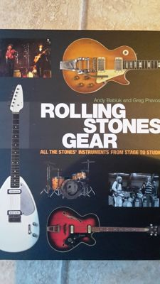 Rolling stones gear book, 2000 guitars book and collectables guitars book