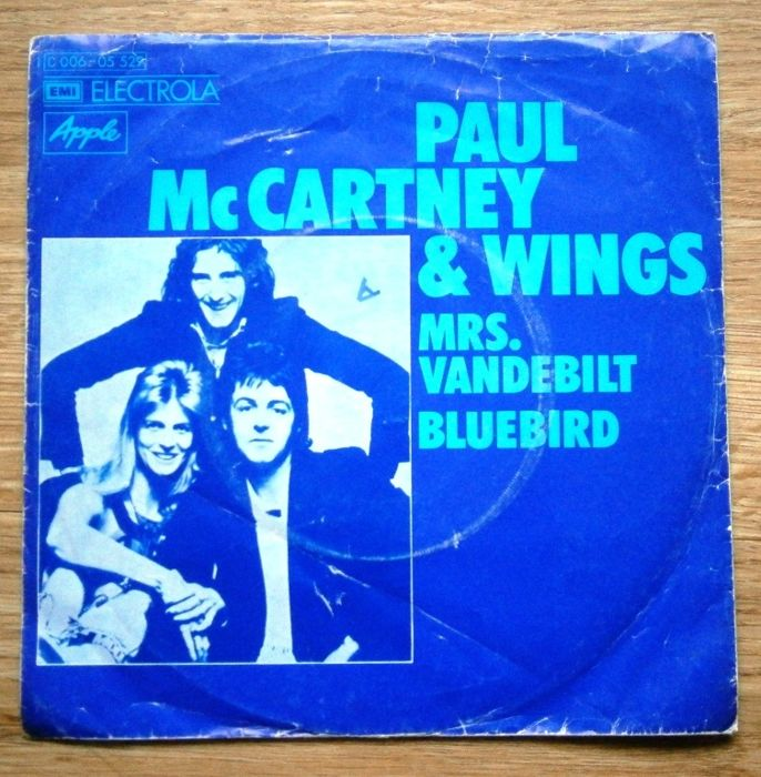 BEATLES: Paul McCartney Solo (and Wings) - Lot of 14 x 7