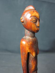 Antique Ivory Figure - LOBI - Burkina Faso