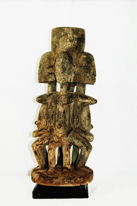 Old DOGON multifaced altar from the TORO region in MALI
