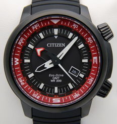 Citizen Promaster Eco Drive GMT 200M – Men's solar watch – New
