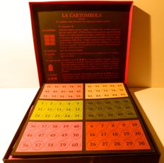 Tombola game by Maestri Cartai - Perugia, Italy - mid 1980s
