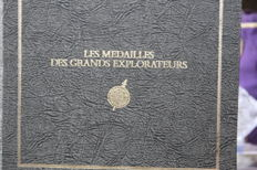 France - Great Explorers Medals 1975/1977, International Geographic Union - silver