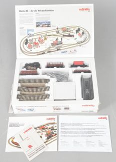 Märklin H0 - 2905 - Junasetti - BR 89 with M tracks, Waggons and transformer - DB