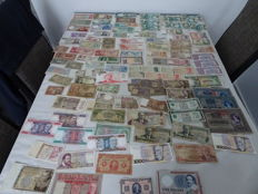 World - Collection of 155 banknotes - 1902-2003