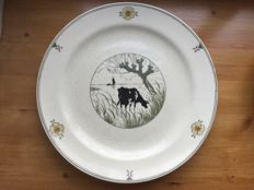 Porceleyne Fles - A plate from the cow set