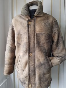 Limeks - Shearling coat / lammycoat / jas