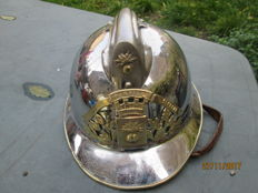 Superb firefighter's helmet 1933