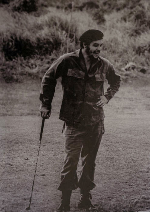 Alberto Korda (1928-2001) - 'Che Guevara playing golf', Havana, Cuba, 1961
