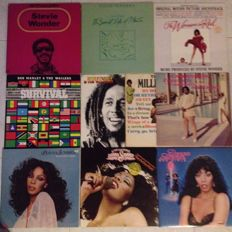 10 Albums 16 records with 60's and 70's music