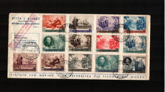 San Marino and Vatican – Small lot of letters.