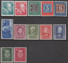 Federal Republic of Germany 1949/1952 - Various issues