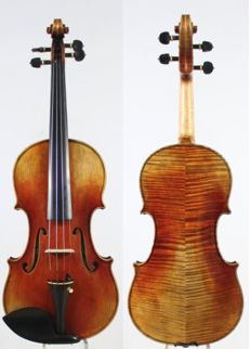 Violin replica Giuseppe Guarneri del Gesu 1744