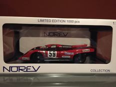 Norev - Scale 1/18 - Porsche 917 Magny Cours 1970 #59 - Limited Edition 1000 pieces