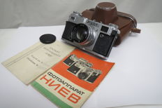 """Kiev-4А""-(prototype Contax Carl Zeiss Jena). With a passport. The USSR 1958—1980 ""Arsenal""(Kiev)."