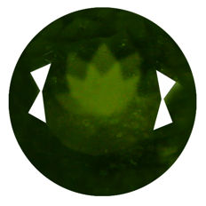 Vesuvianite (Idocrase) – Brownish-green – of 2.73 ct